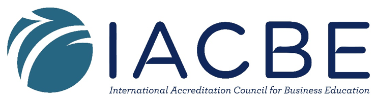 Logo for the International Accreditation Council for Business Education