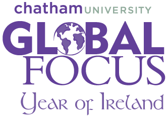 Chatham Unversity Global Focus Year of Ireland logo image