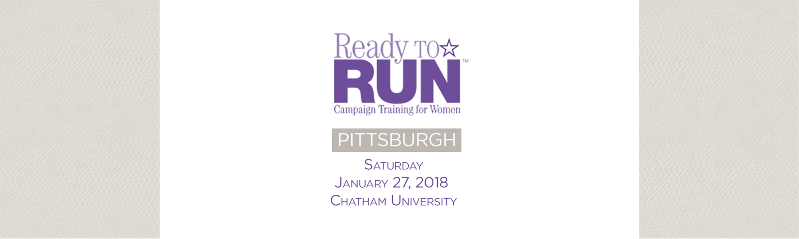 Ready to Run | Pittsburgh