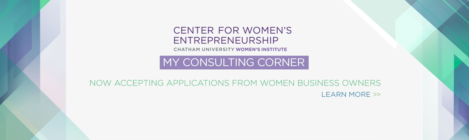 My Consulting Corner - Accepting Applications for Fall 2016!