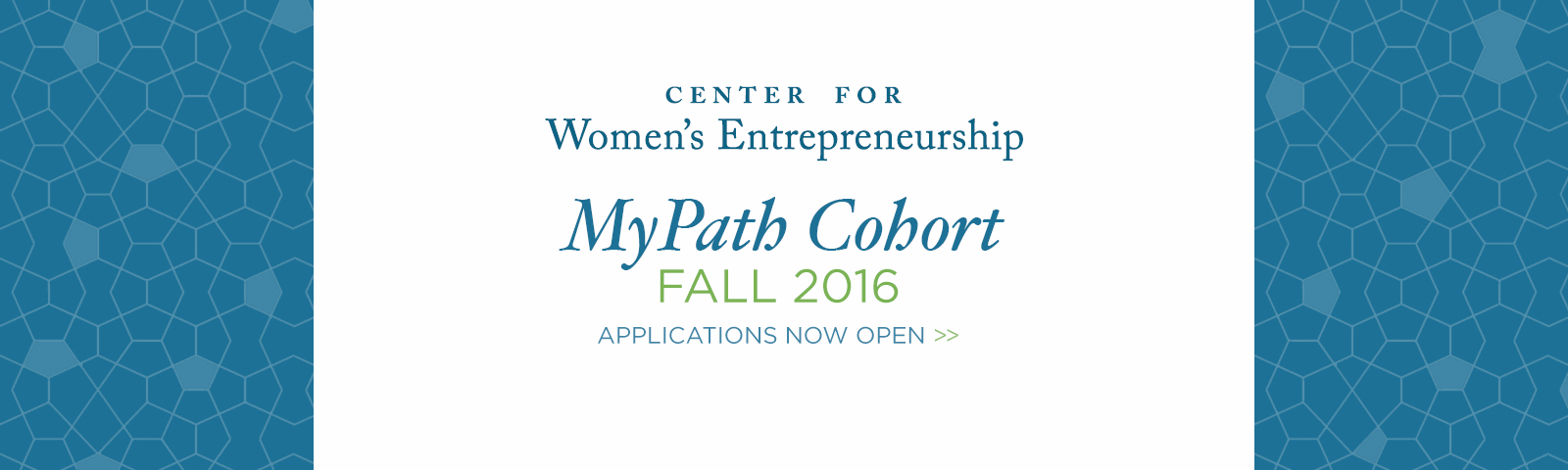 My Path Cohort - Accepting Applications for Fall 2016!