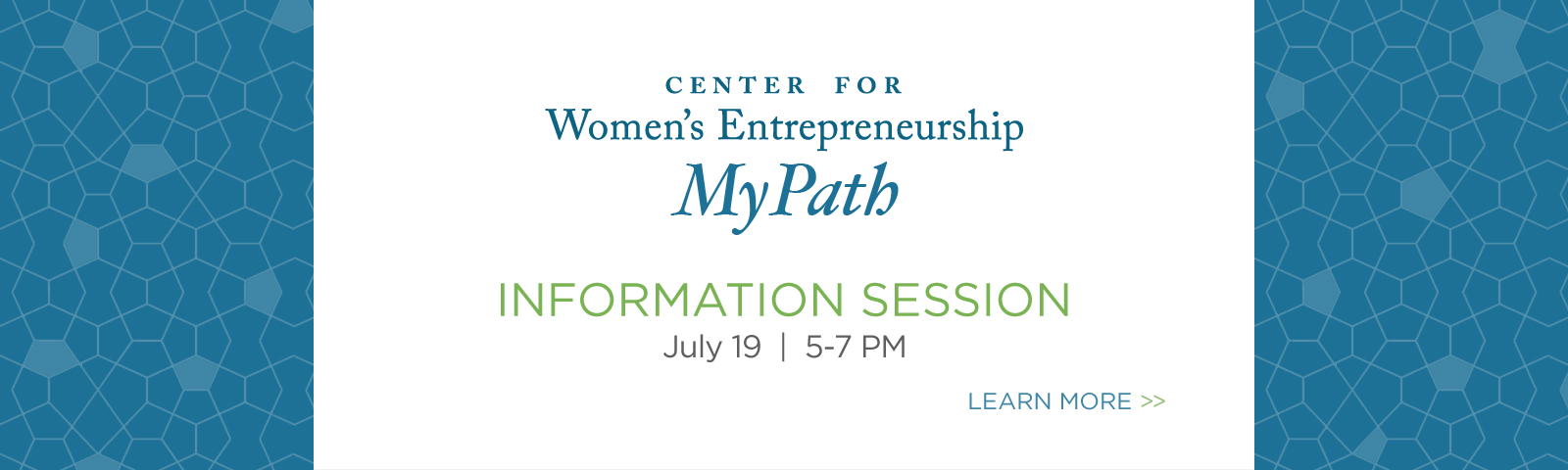 My Path - Information Session